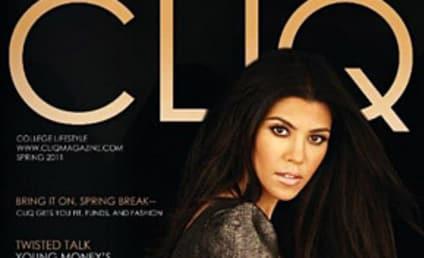 Kourtney Kardashian Kovers Cliq, Konsiders Bikoastal Living
