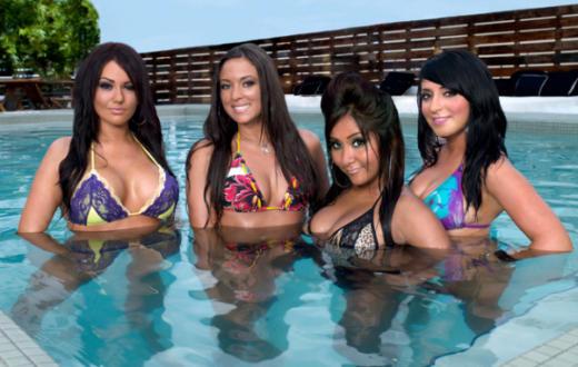 Four Jersey Girls