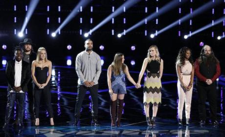 The Voice Results: Semifinal Bloodbath Claims Four