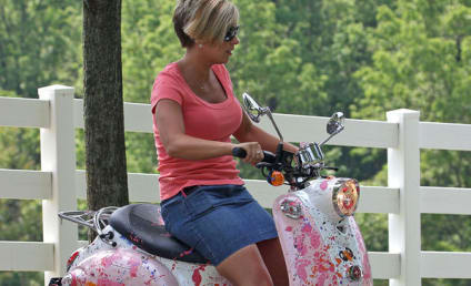 Kate Gosselin Won't Die, Will Ride Pink Motorcycle