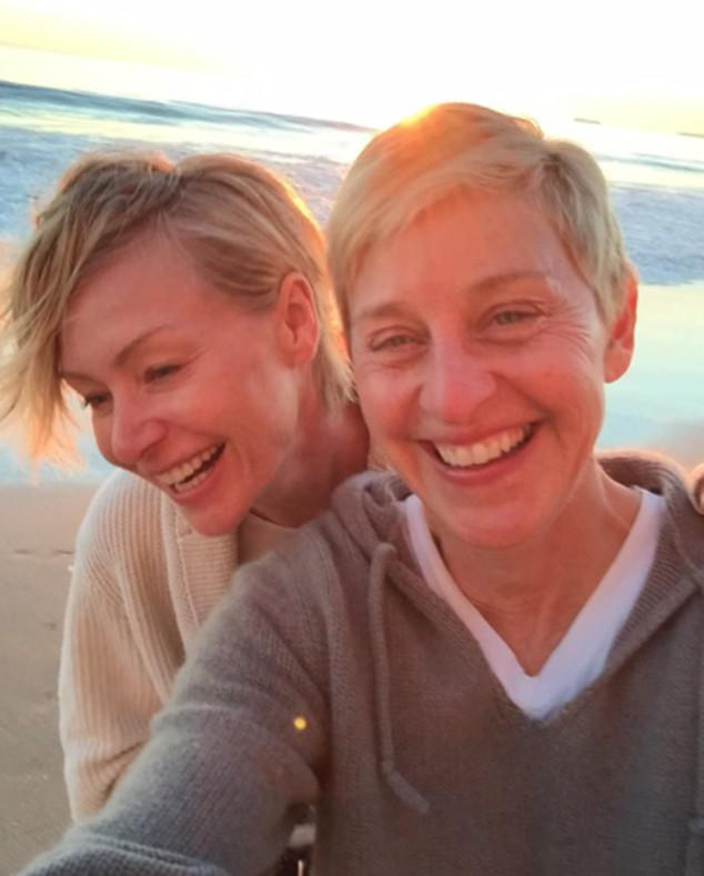 Portia De Rossi Wedding Hair: 63 Stars Who Are Makeup Free And Fabulous