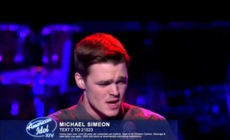 """Michael Simeon - """"How Am I Supposed to Live Without You?"""""""