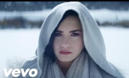 "Demi Lovato Makes Us Cry in ""Stone Cold"" Music Video"