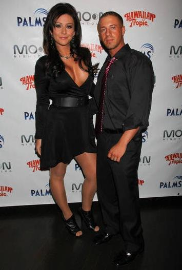 Thomas Lippolis and JWoww