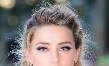 Amber Heard Premiere Photo