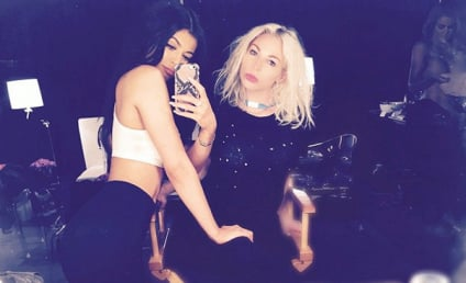 Khloe Kardashian: Topless Photobomb Alert in Background of Random Kylie Jenner Selfie!