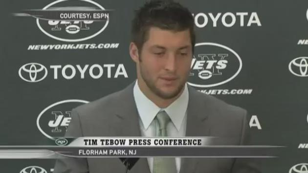 Tebow Press Conference Tim Tebow Press Conference