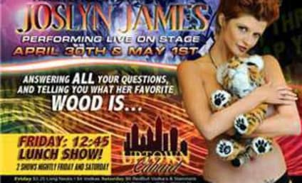 Joslyn James Striptease Tour Follows Tiger to N.C.