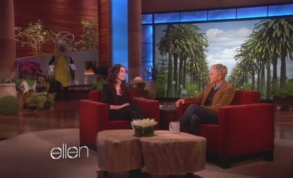 Megan Fox on Ellen: Giant Fake Banana Alert!