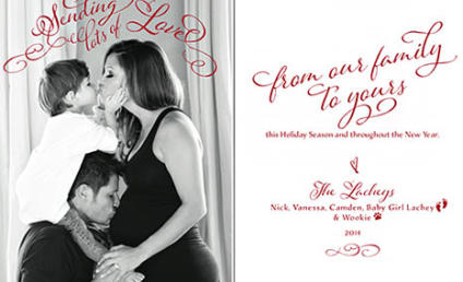 Nick and Vanessa Lachey Share Cutest... Christmas... Card... EVER!