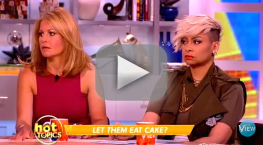Candace cameron bure and raven symone clash over lesbian wedding
