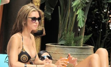 Spotted in Vegas: Audrina Patridge and Corey Bohan