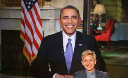 "President Obama Slams Ellen for ""Cheap"" Oscars Stunt, Might Get a Tattoo"