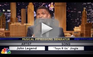 Jamie Foxx Does Impressions of Mick Jagger, Jennifer Hudson