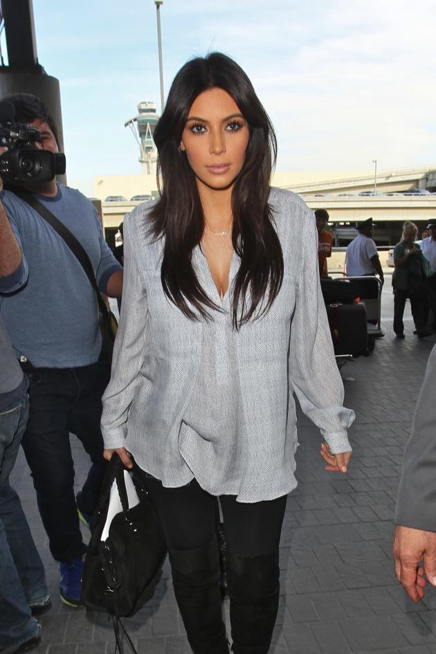 Kim Kardashian Pregnancy Pic