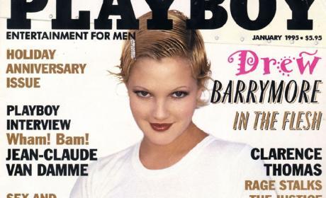 Drew Barrymore Playboy Cover