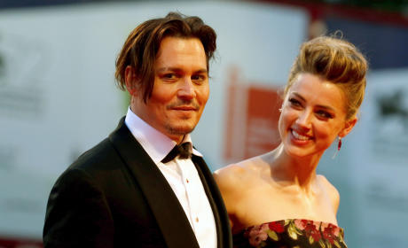 Johnny Depp, Amber Heard: Venice Film Festival Photo