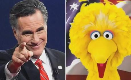 Mitt Romney Visits Sesame Street, Incurs Wrath of Big Bird & Friends