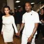 Kim Kardashiana and Kanye West: 2012 BET Awards