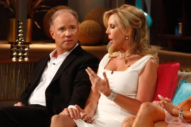 Brooks Ayers and Vicki Gunvalson