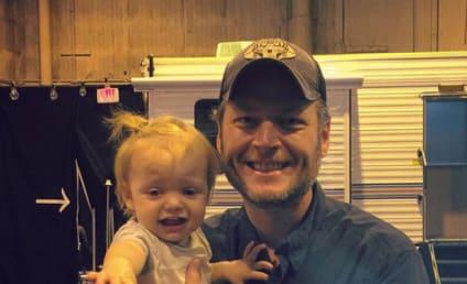 Christina Aguilera's Daughter to Blake Shelton: Let Me Go!