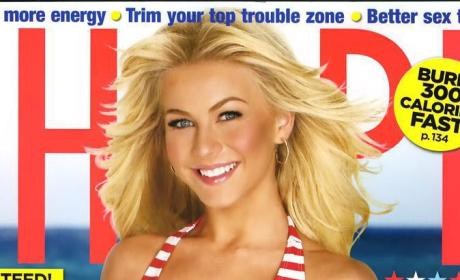 Julianne Hough: Shape Cover