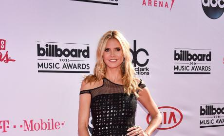 Heidi Klum at the Billboard Music Awards