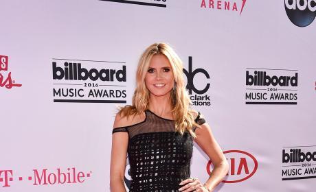 Heidi Klum at the Billboard Music Awards