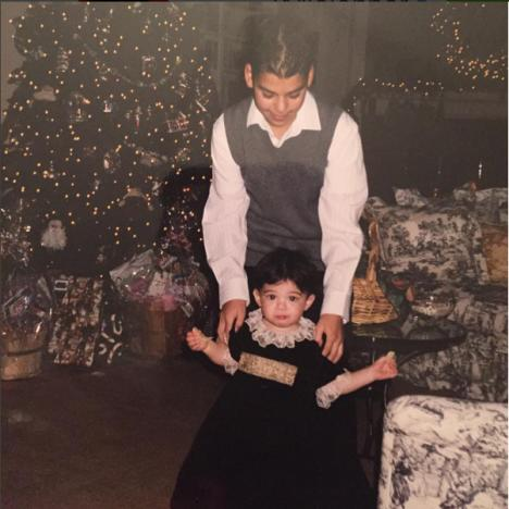 Kylie Jenner - Rob Kardashian throwback
