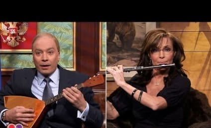 "Sarah Palin Calls ""Vladimir Putin"" on The Tonight Show"