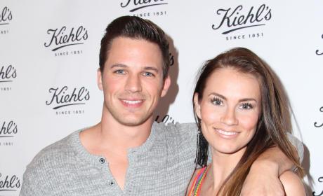 Angela Stacy and Matt Lanter Photo