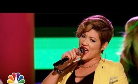 "Tessanne Chin: ""Underneath It All"" - The Voice"