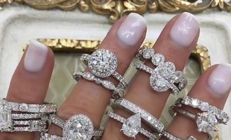 Jenelle Evans Rocks Engagement Rings