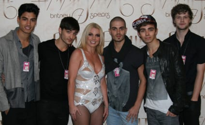 Britney Spears: Sort of Dissed By The Wanted!