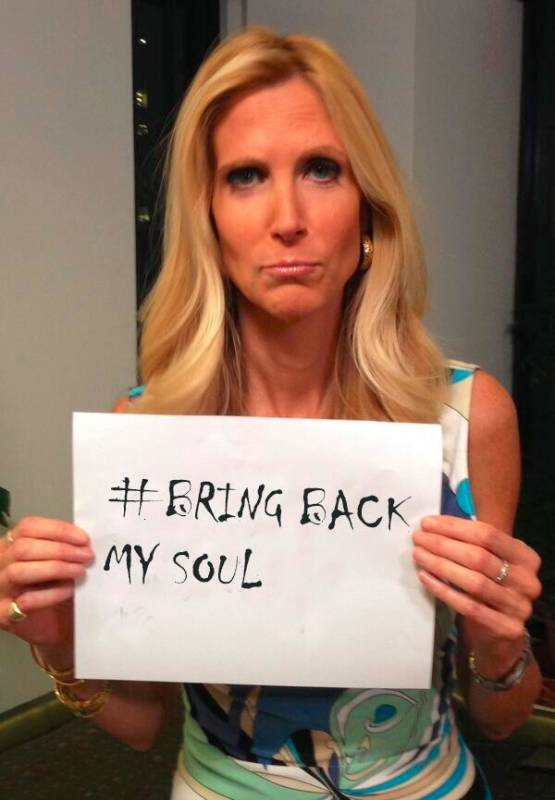 Ann Coulter: Bring Back My Soul!