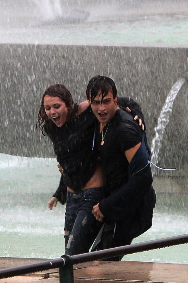 Wet and Miley