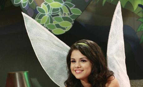 Selena Gomez: Transformed into Tinkerbell!