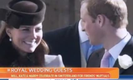 Kate Middleton, Baby Bump Attend Swiss Wedding, Forego Skiing