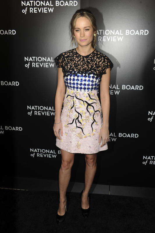 Brie larson 2015 national board of review gala