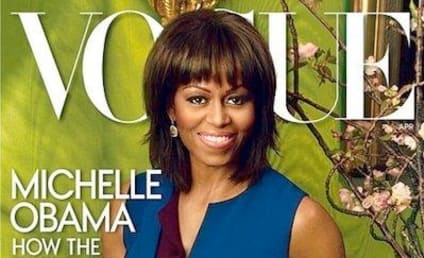 Michelle Obama Vogue Cover: Revealed! Stunning!