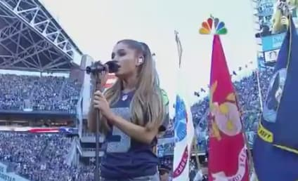 Ariana Grande Sings National Anthem on NFL Opening Night, CRUSHES It: Watch!