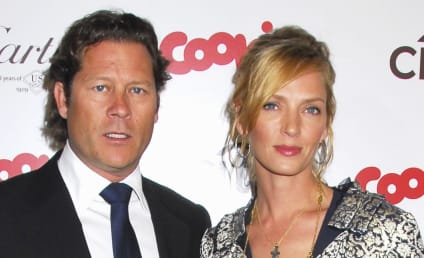 Uma Thurman and Arpad Busson: Expecting!