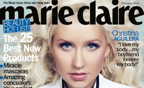 Christina Aguilera Marie Claire Cover