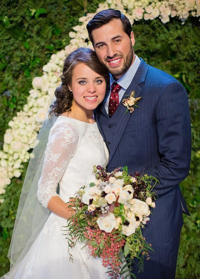 Jinger Duggar and Jeremy Vuolo get married. Photo: TLC