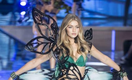 Gigi Hadid Nails Her First Victoria's Secret Fashion Show