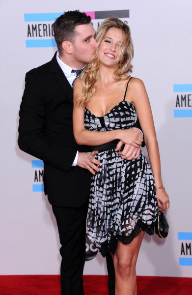 Luisana Loreley Lopilato de la Torre and Michael Buble