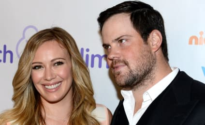 Hilary Duff Spotted Kissing Ex Mike Comrie: Back Together?