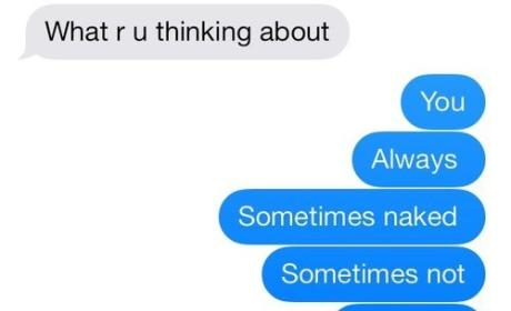 21 People Who Have Mastered the Art of Flirting Via Text: Thinkin' Bout U ...