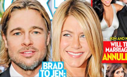 Brad Pitt to Jennifer Aniston: I'm Living a LIE!!!