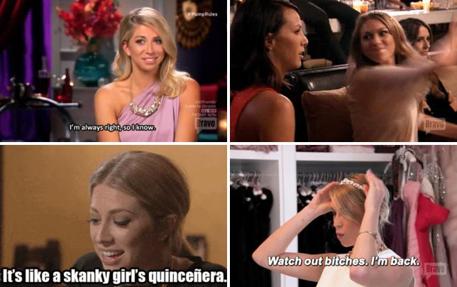 Stassi is always right